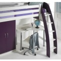 loft bed curved